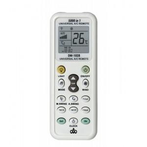 Τηλεκοντρόλ κλιματιστικού με φακό LED DM-1028