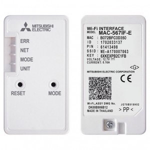 Mitsubishi Electric Wifi MAC-567IF-E